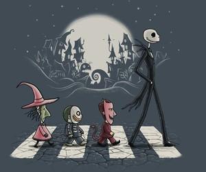 jack, Halloween, and jack skellington image