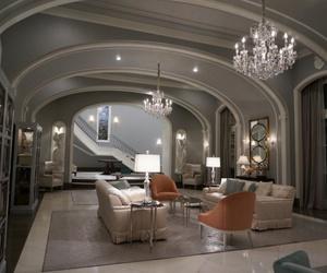 interior design, luxury, and scream queens image