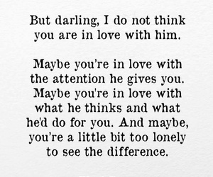 attention, darling, and love image