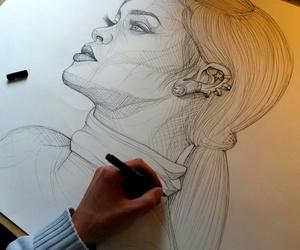 rihanna, art, and drawing image