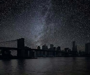 stars, night, and city image
