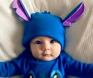 babys, stitch, and cutest babys image