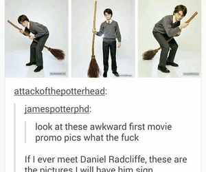 harry potter, funny, and daniel radcliffe image