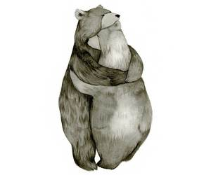 bear, art, and love image