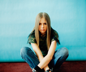 Avril Lavigne, 2002, and let go image
