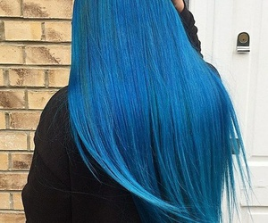 blue, perfect, and hairstyle image