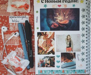 art, diary, and smashbook image