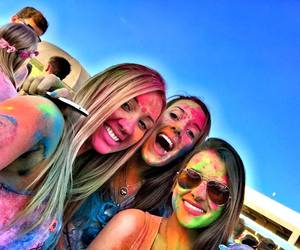 color, festival of colors, and fun image