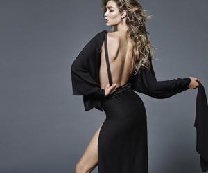 gigi hadid, model, and black image