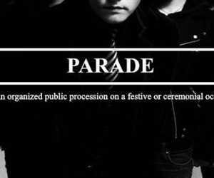 my chemical romance and the black parade image