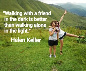 quote, bff, and green image