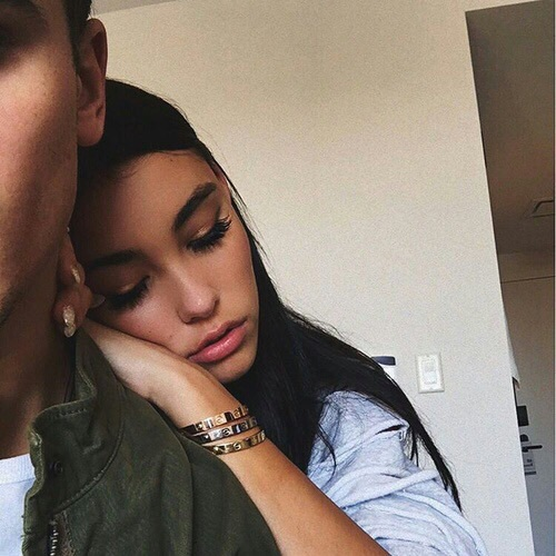 couple, madison beer, and goals image