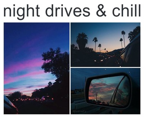 night, cars, and chill image