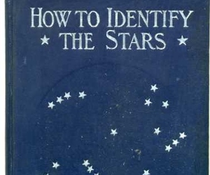 stars, book, and vintage image