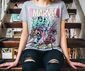 Marvel, clothes, and Avengers image