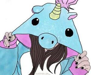 unicorn and tumblr image