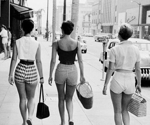 fashion, vintage, and black and white image