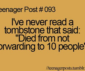 teenager post, funny, and post image