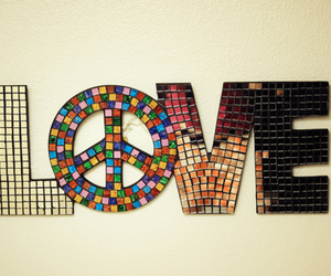 love and peace image
