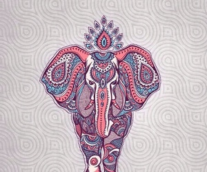 wallpaper, background, and elephant image