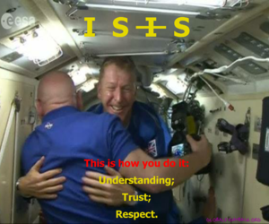 international space station, trust, and understanding image