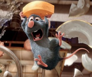 ratatouille, disney, and cheese image