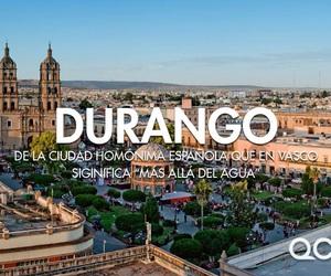 durango and méxico image