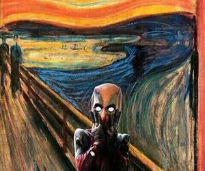 art, scream, and edvard munch image