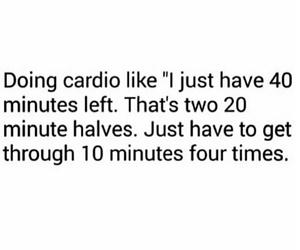 cardio, lol, and ugh image