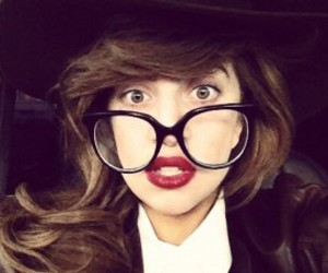 Lady gaga and glasses image