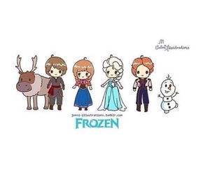 anna, hans, and frozen image