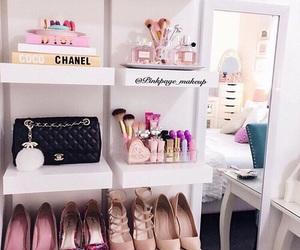 bags, bedrooms, and heels image
