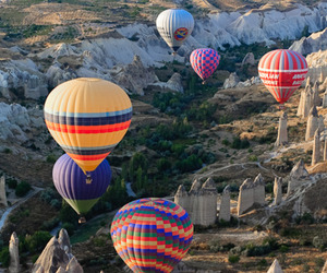 balloons, turkey, and nature image