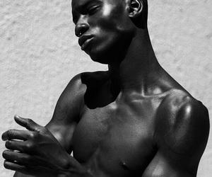 fine, melanin, and men image