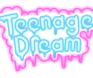 blue and teenage dream image