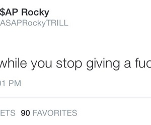quote and asap rocky image