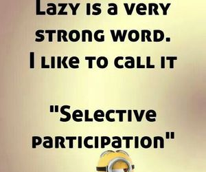 funny and word lazy image
