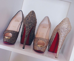 fashion, high heels, and louboutin image