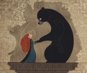 brave, bear, and merida image