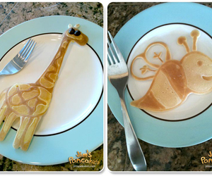 giraffe and pancakes image