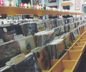 70s, 80s, and records image