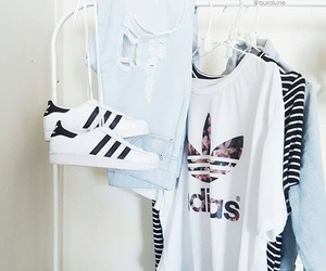 adidas, fashion, and clothes image