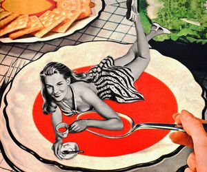 Collage, collage art, and gazpacho image