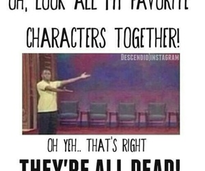 book, character, and fandom image