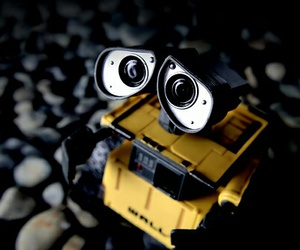 robot, toy, and wall-e image