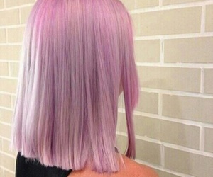 awesome, hair, and pink image