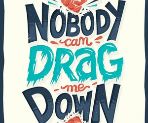 one direction, drag me down, and Lyrics image