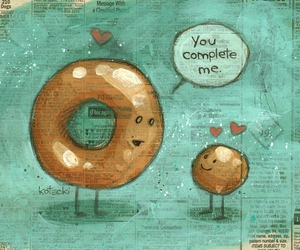 love, donuts, and complete image