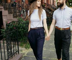 fashion, couple, and pretty image