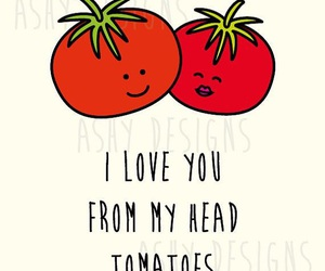 love, tomato, and funny image
